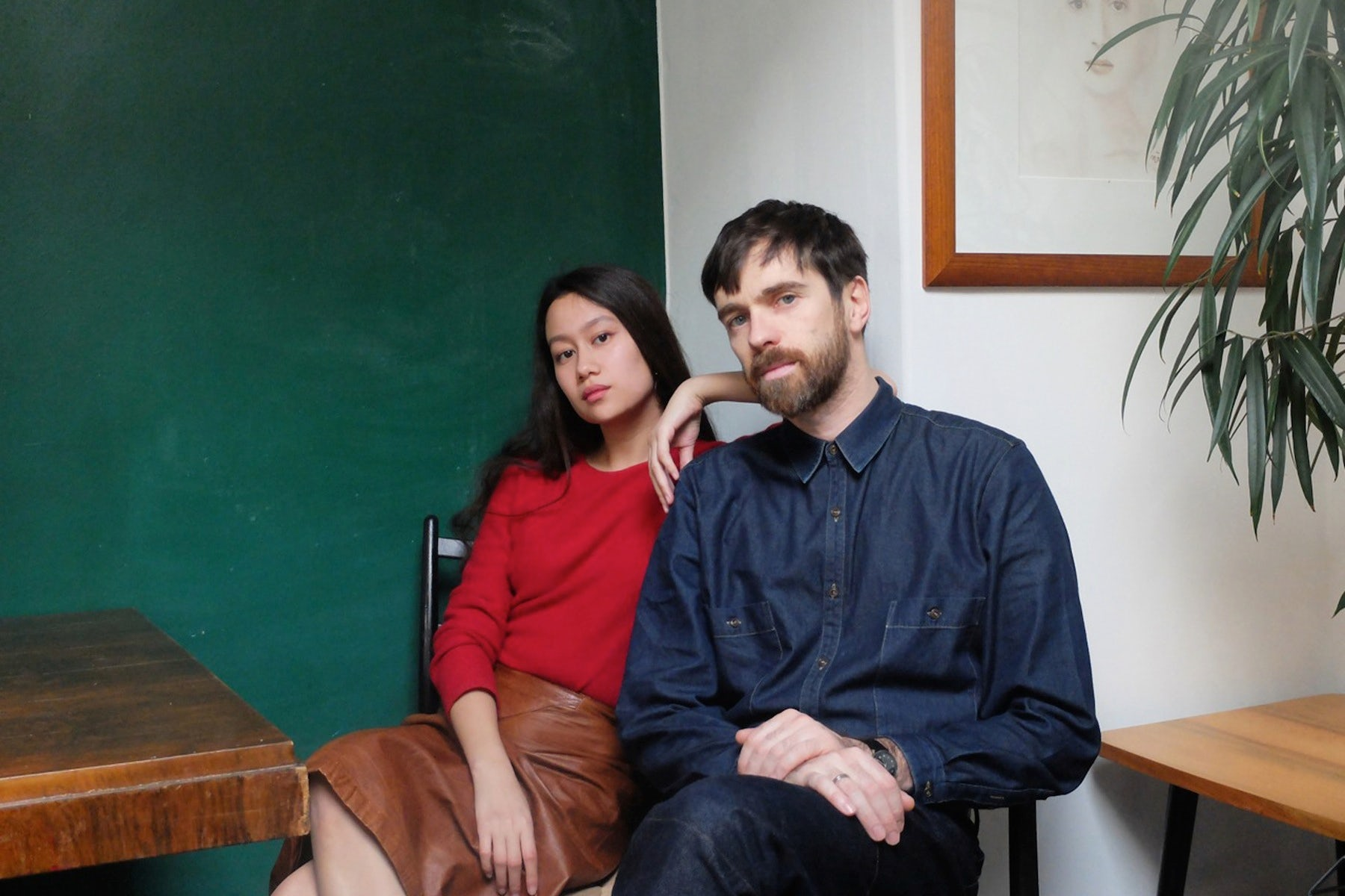 Sarah-Linh Tran and Christophe Lemaire of Lemaire | Source: Courtesy