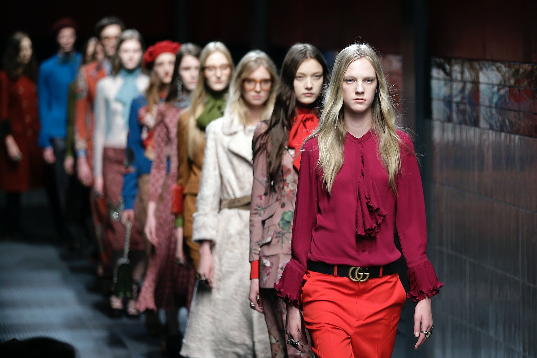 Gucci Autumn/Winter 2015 | Source: Associated Press