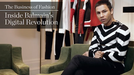 1060751b In our latest 'Inside Fashion' interview, BoF's Imran Amed sits down with Olivier  Rousteing and Emmanuel Diemoz to discuss the rise of Balmain and its ...
