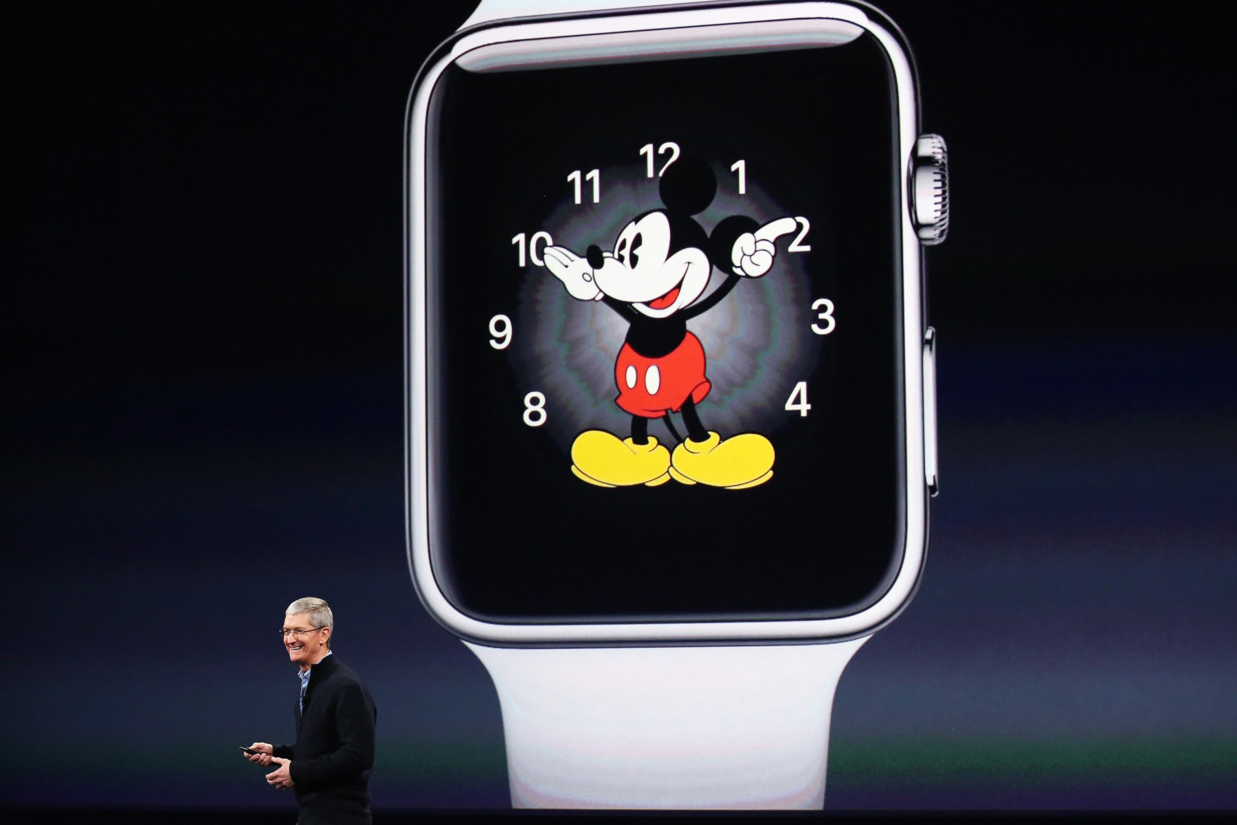Apple CEO Tim Cook introduces the Apple Watch | Source: Reuters