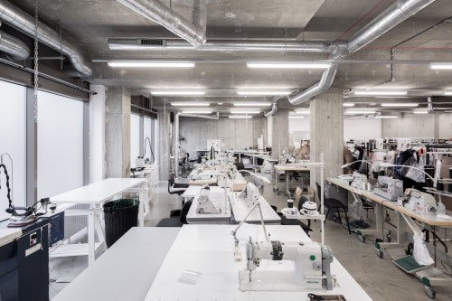 Peter Pilotto's studio co-designed with architects Matheson and Whiteley | Source: Courtesy