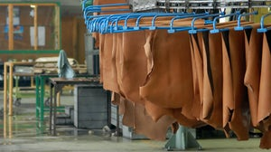 Leather in a tannery (stock image)| Source: Shutterstock