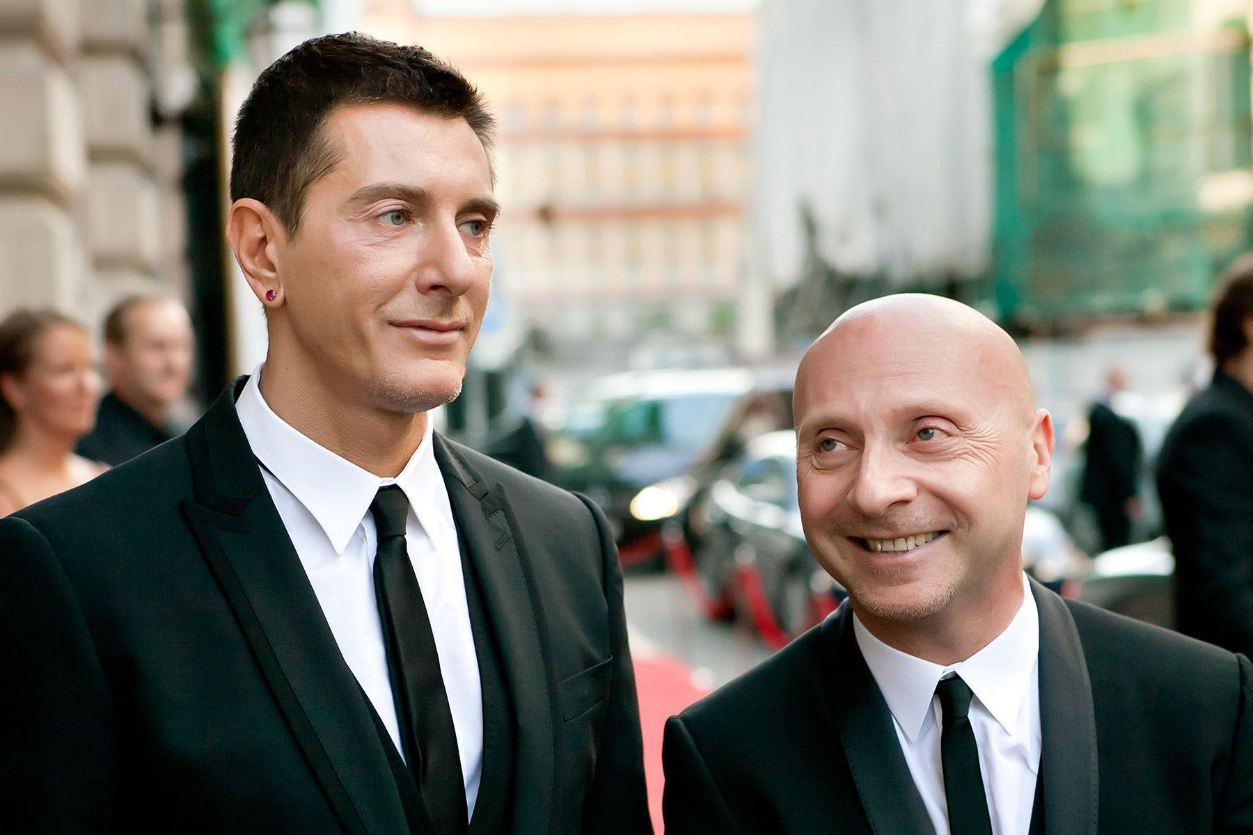Domenico Dolce and Stefano Gabbana | Source: Shutterstock