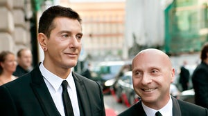 Domenico Dolce and Stefano Gabbana | Source: Shutterstock