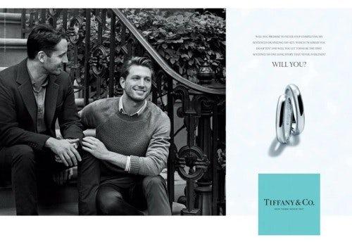 Tiffany's 'Will You?' campaign | Source: Tiffany & Co.