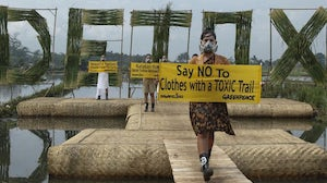 Greenpeace's Detox Catwalk in Bandung, Indonesia | Photo: Greenpeace/Hati Kecil Visual
