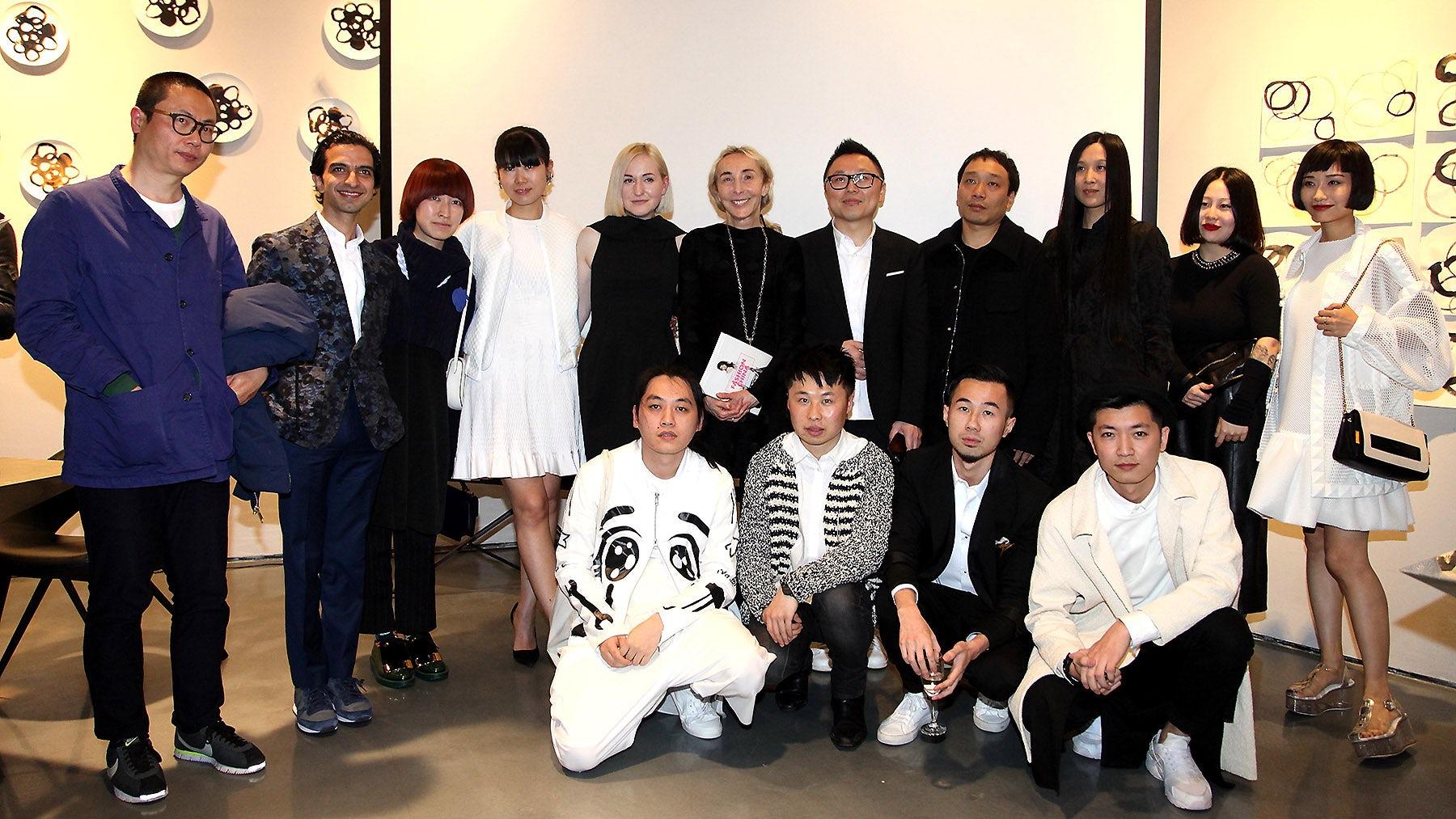 At the 'Fashion China' book event at 10 Corso Como, Shanghai | Source: 10 Corso Como