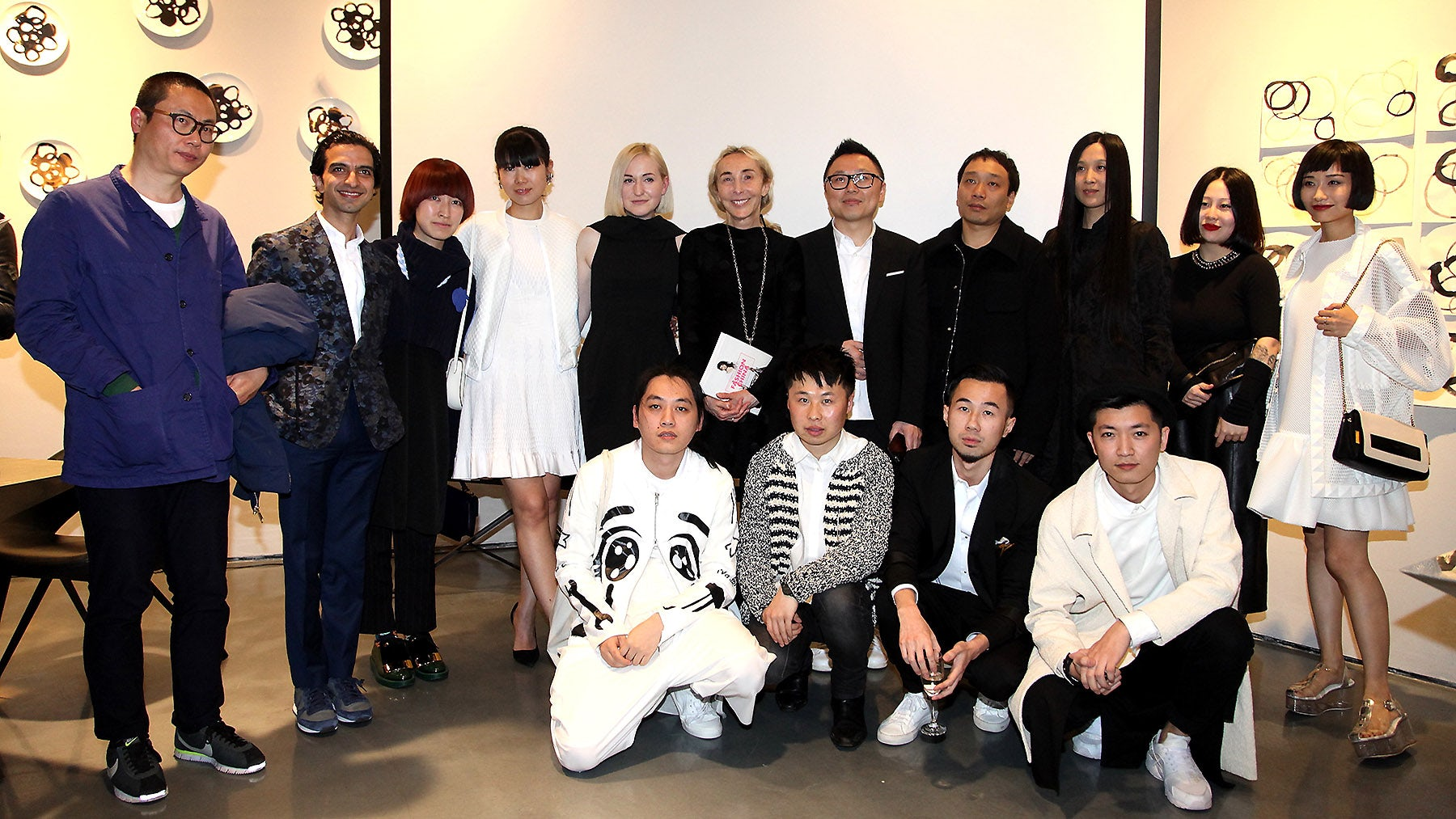 At the 'Fashion China' book event at 10 Corso Como, Shanghai | Source: 10 Corso Como