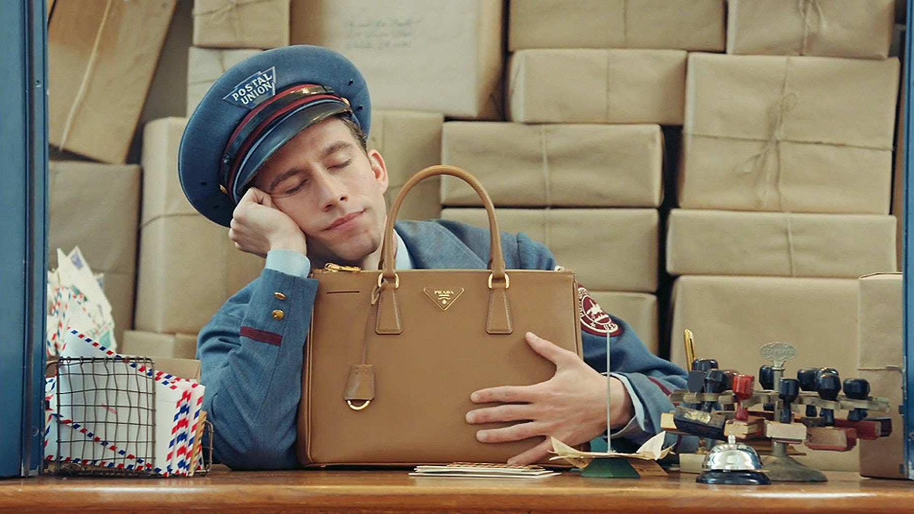 The Postman Dreams | Source: Prada
