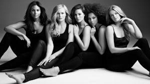 IMG Models Marquita Pring, Inga Eiriksdottir, Ashley Graham, Julie Henderson, and Danielle Redman | Photo: Danilo Hess
