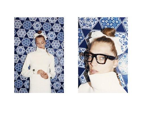Daria Werbowy, Celine Campaign Autumn/Winter 2013 | Photo: Juergen Teller