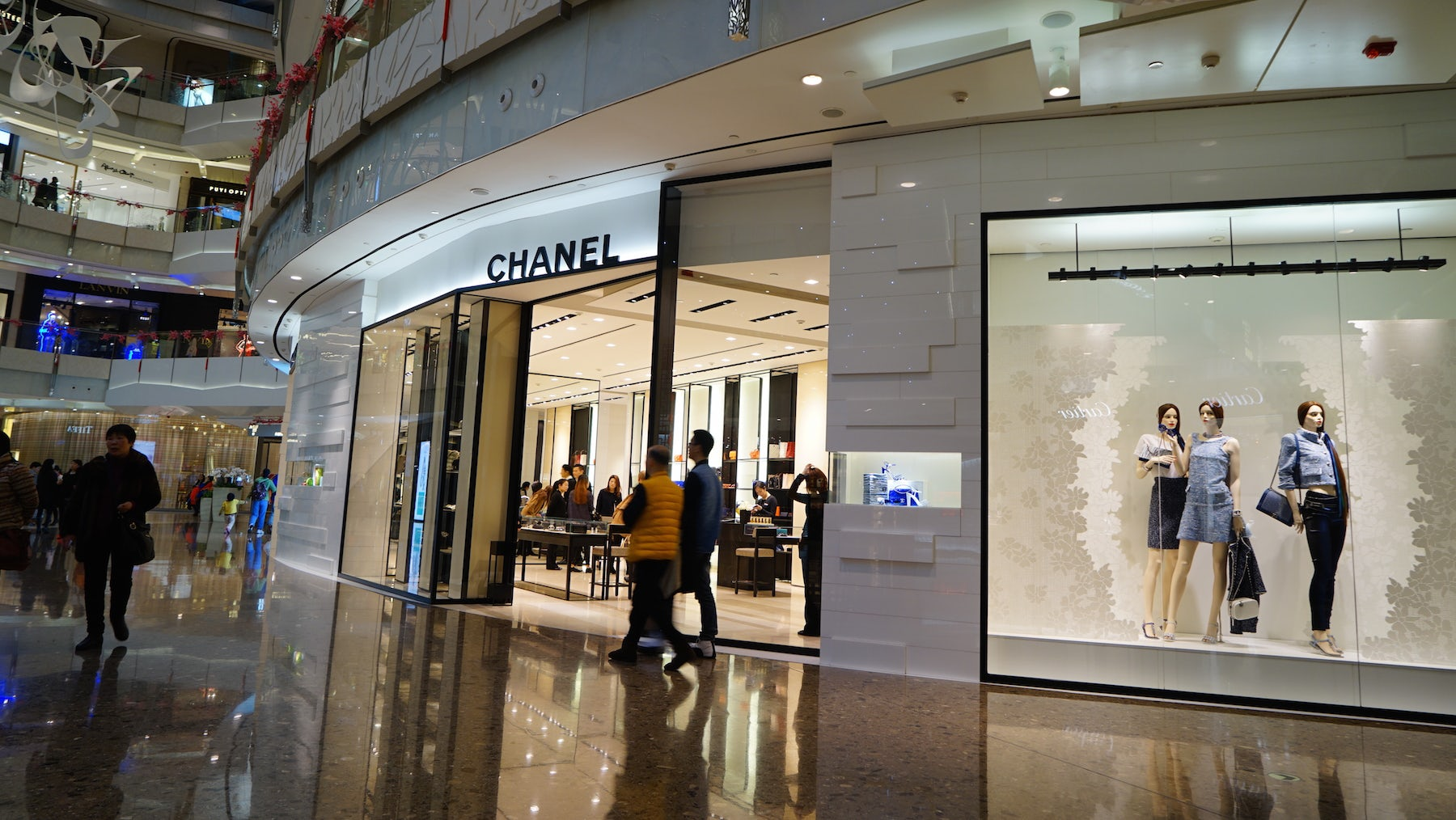 Chanel store, Shanghai | Source: Shutterstock