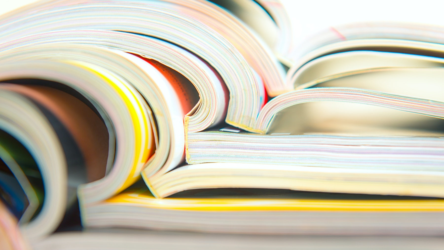 Stack of catalogues | Source: Shutterstock