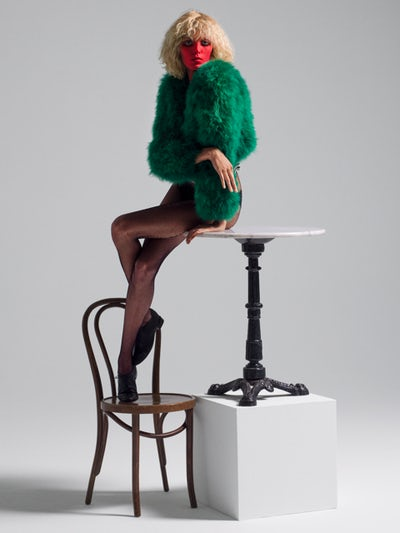 Anja Rubik, styled by Mel Ottenberg; hair by Shay; make-up by Wendy Rowe | Photo: Inez and Vinoodh