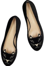 Charlotte Olympia's Kitty flats | Source: Charlotte Olympia