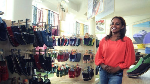 Bethlehem Tilahun Alemu, founder and CEO of Sole Rebels| Photo: Antonio Fiorente