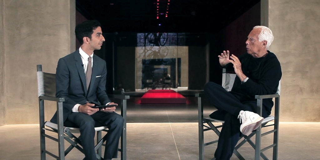 Bof Exclusive Inside Giorgio Armani S Fashion Legacy Video Bof Exclusive Interviews Inside Fashion Bof
