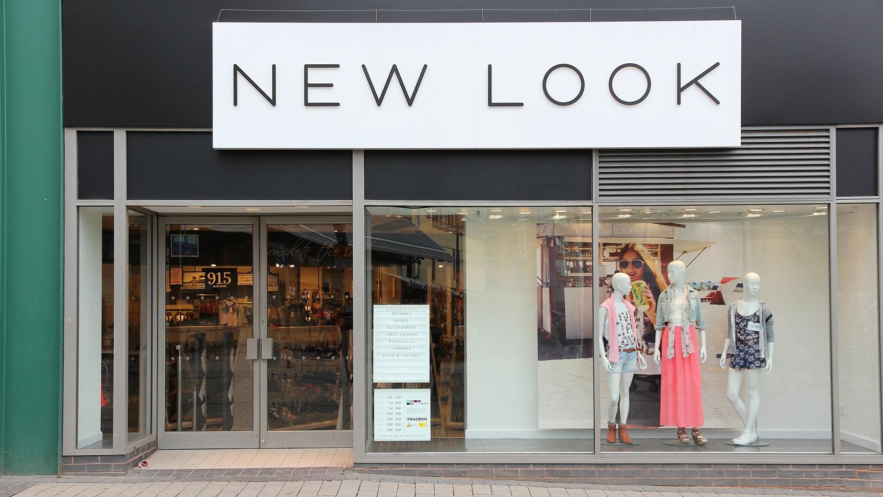 New Look store | Source: Shutterstock