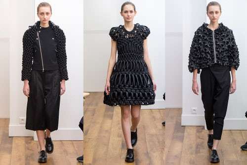 Noir by Kei Nomiya Autumn/Winter 2015 | Source: Indigital