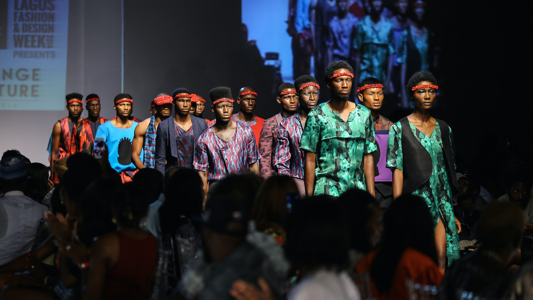 Orange Culture show at Lagos Fashion & Design Week Autumn/Winter 2015 | Source: Courtesy