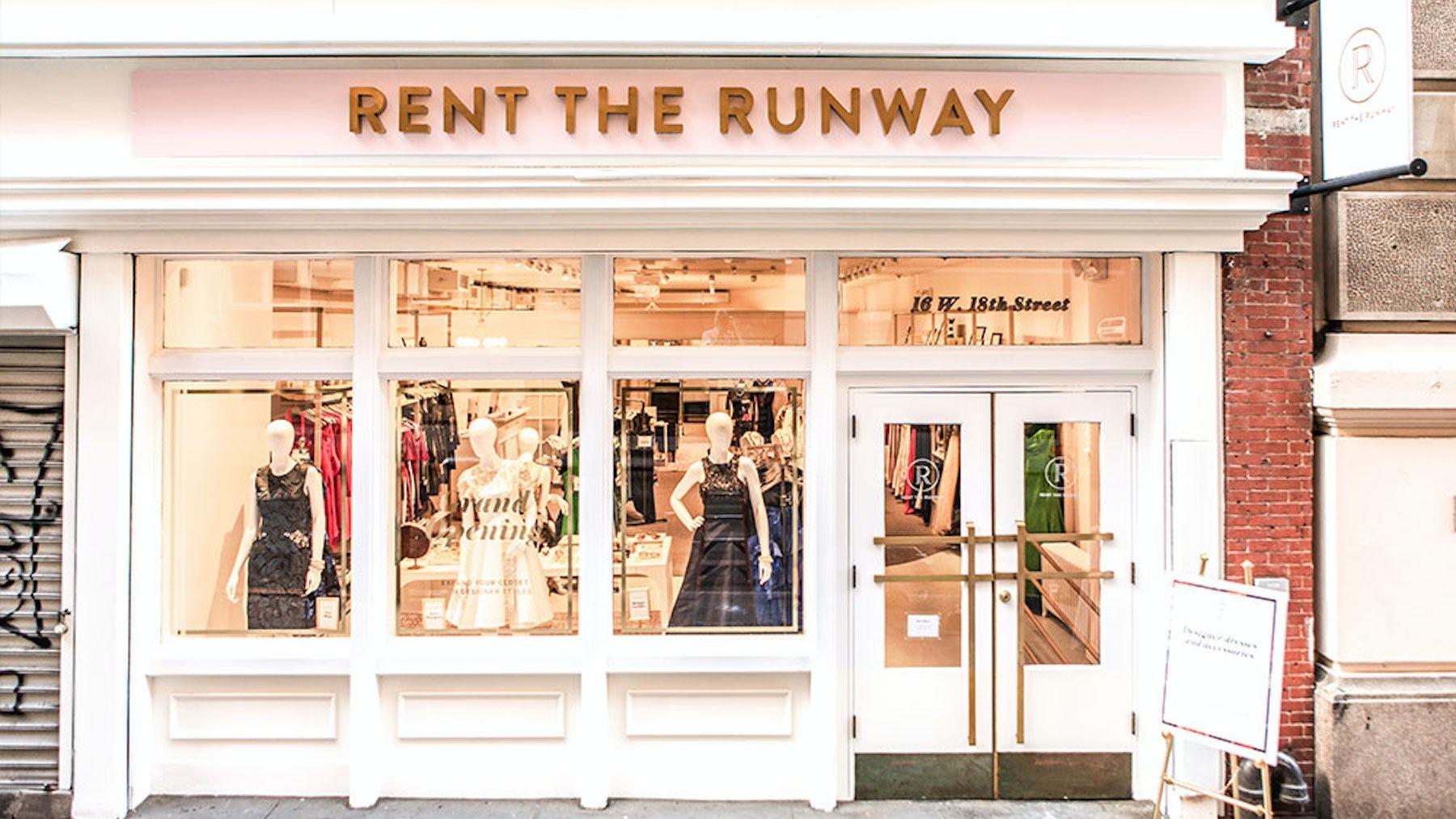 Rent the Runway store   Source: Rent the Runway