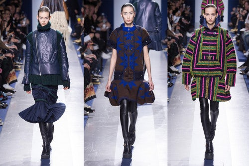 Sacai Autumn/Winter 2015 | Source: Indigital