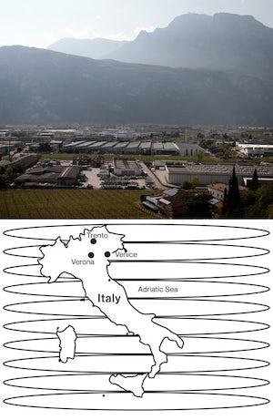Artisan valley in Trento, Italy | Photo: Luca Locatelli for Bloomberg
