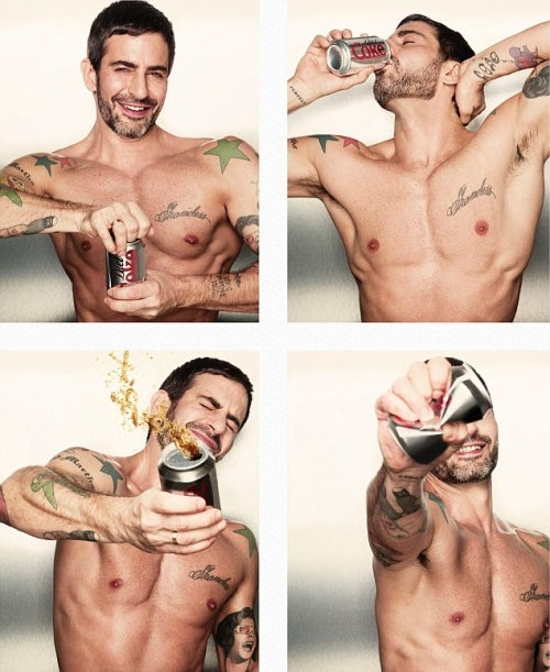 Marc Jacobs 2013 Campaign for Diet Coke | Source: The Coca-Cola Company
