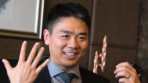 Richard Liu, founder of JD.com | Source: Associated Press