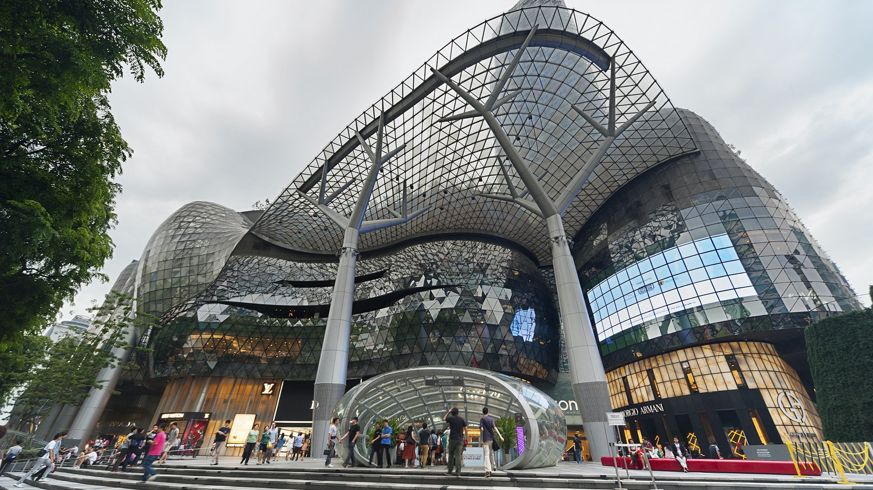 Orchard shopping mall in Singapore | Source: Shutterstock