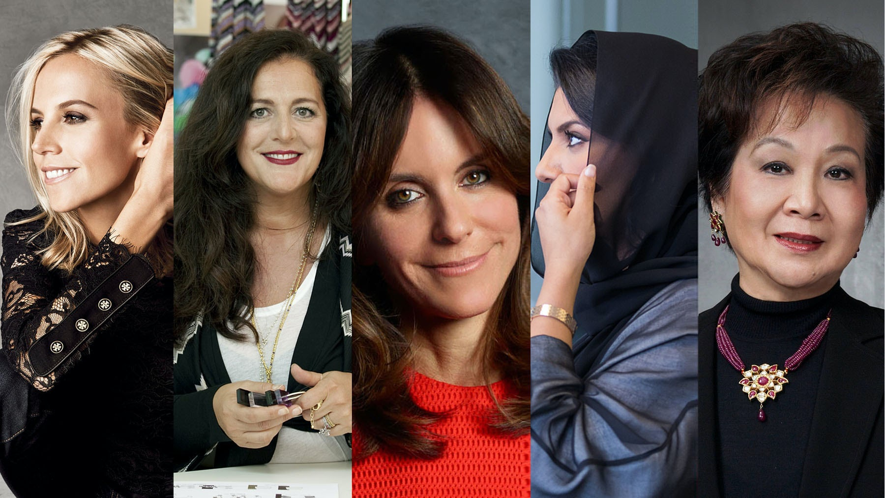 Left to right: Tory Burch, Angela Missoni, Alison Loehnis, Princess Reema Bandar Al-Saud, Balbina Wong | Source: Courtesy