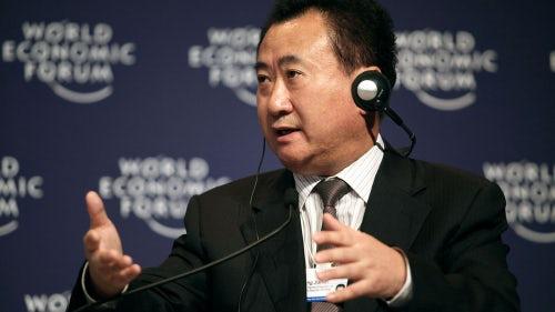 Wang Jianlin, chairman and president of Dalian Wanda Group | Source: Wikimedia