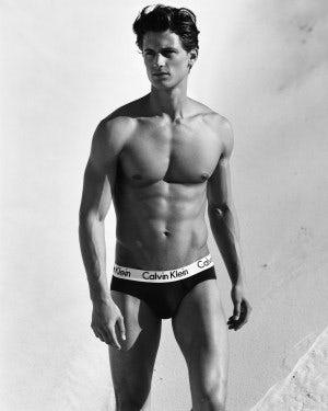 Garrett Neff for Calvin Klein, shot by Bruce Webber | Source: Calvin Klein