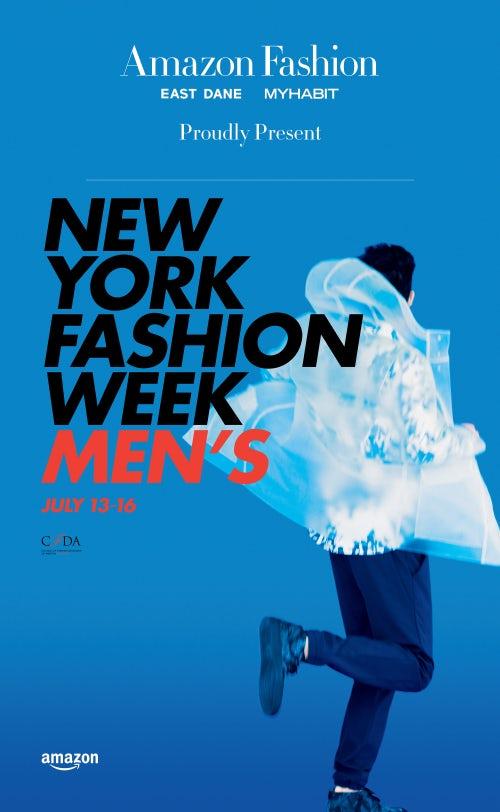 Amazon Fashion sponsors New York Fashion Week Men's