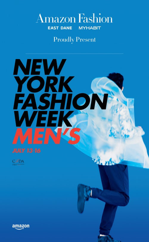 Amazon Fashion sponsors New York Fashion Week Men's