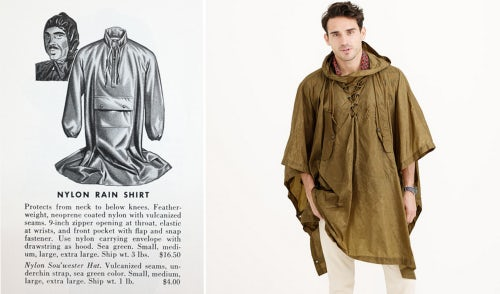 Source: Abercrombie & Fitch Co. 1949 Fall Catalog; J.Crew