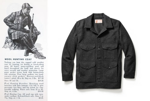 Source: Abercrombie & Fitch Co. 1949, Fall Catalog; Filson