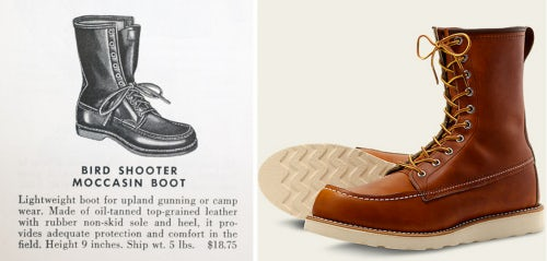 Source: Abercrombie & Fitch Co. 1949, Fall Catalog; Red Wing Shoes