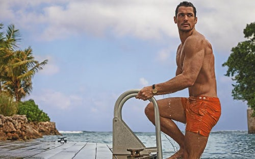 David Gandy for M&S swimwear campaign | Source: Marks & Spencer