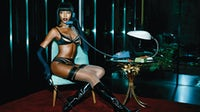 Naomi Campbell in Agent Provocateur's Spring 2015 campaign | Source: Agent Provocateur