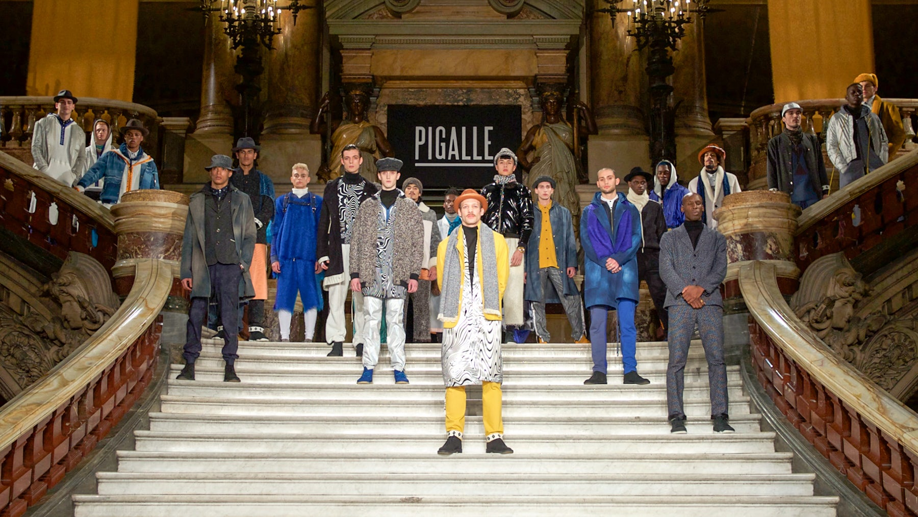 Finale to Pigalle's Autumn/Winter 2015 show | Source: Courtesy