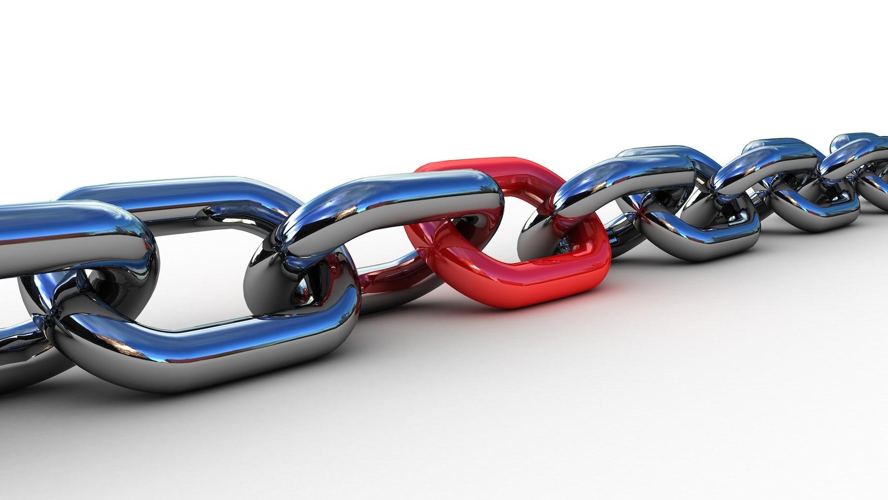 A chain | Source: Shutterstock