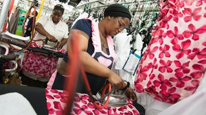 A clothing factory in Cape Town | Source: Shutterstock