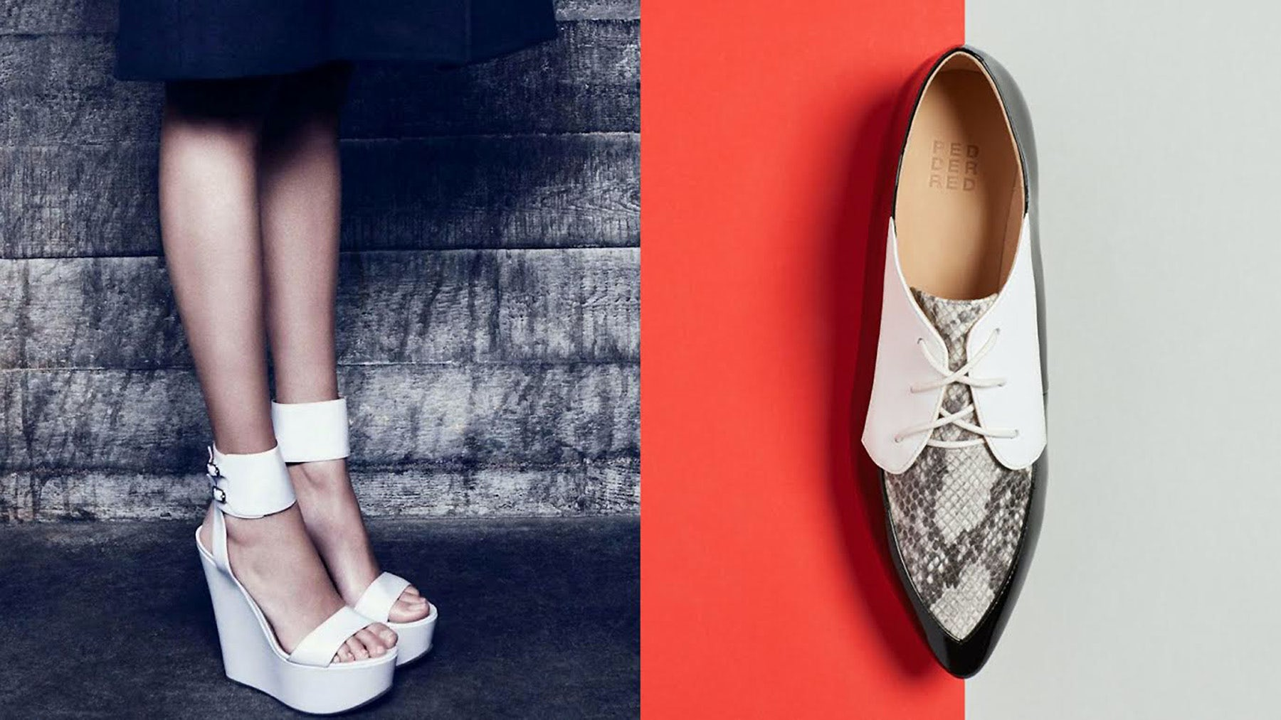 L-R: Kurt Geiger, Pedder Red | Source: Kurt Geiger, Pedder Red