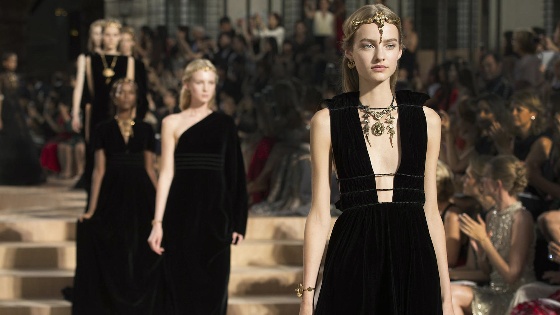 Valentino and Roman Couture