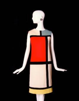 The Mondarin dress | Source: Fondation Pierre Berge - Yves Saint Laurent