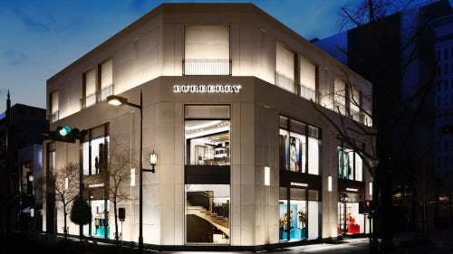 Burberry store, Osaka, Japan | Source: Courtesy