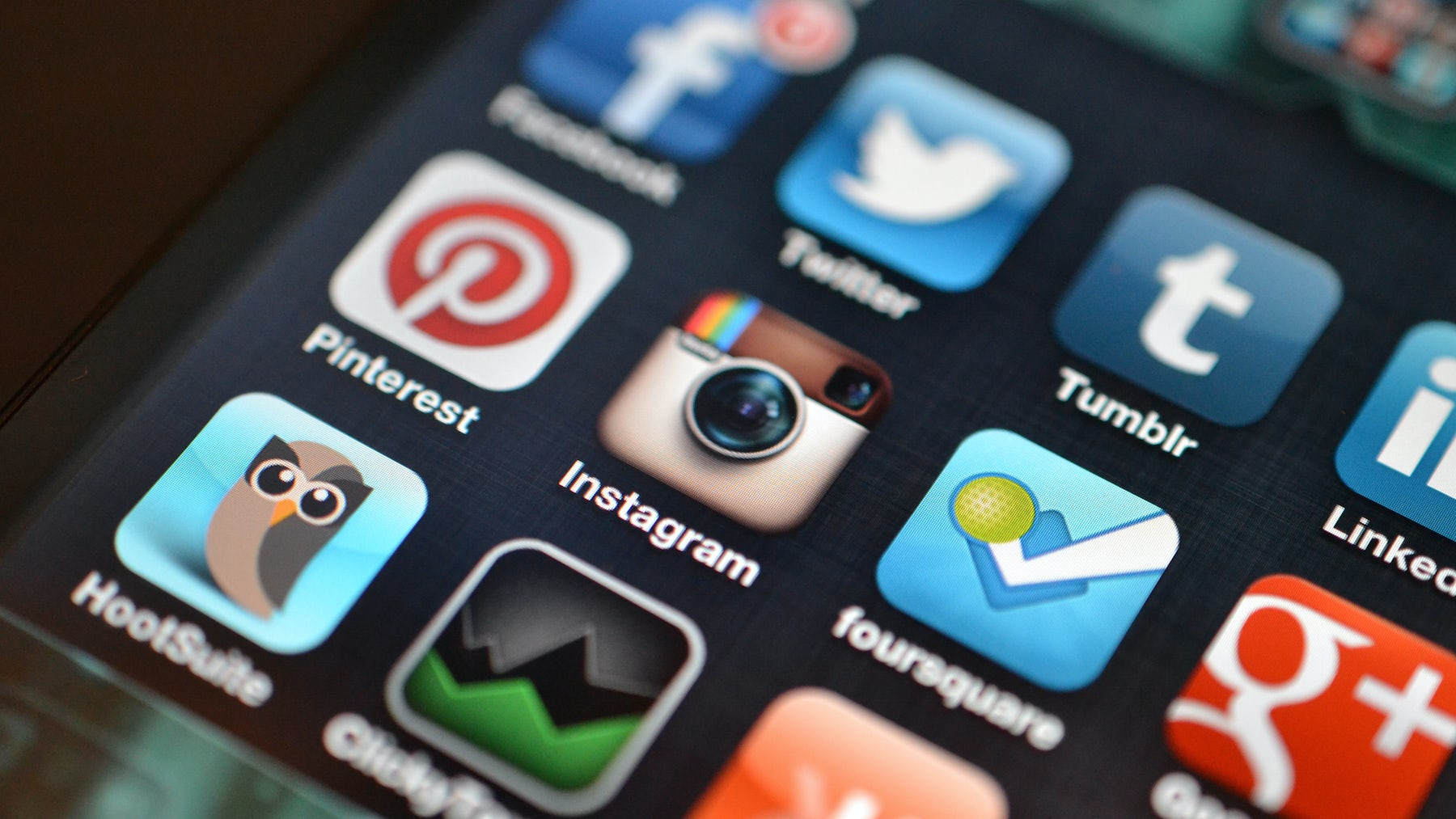 Instagram and other apps | Source: Flickr