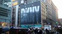 DKNY billboard in Soho, New York | Source: Flickr/Rob Smith