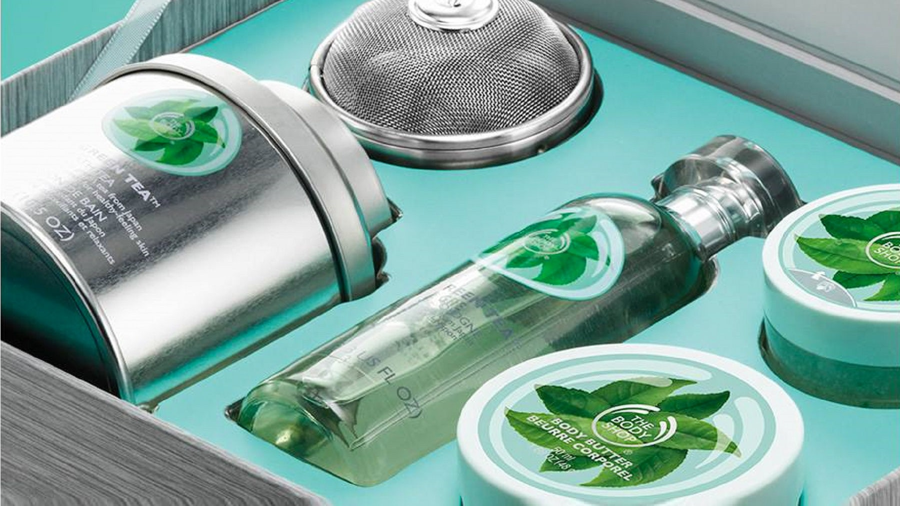 The Body Shop's Fuji Green Tea range | Source: The Body Shop